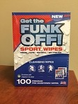 FUNK OFF! Sport Wipes, 100 Count Box