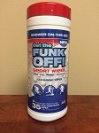 FUNK OFF! Sport Wipe Canister