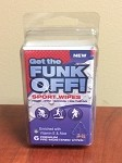 FUNK OFF! Sport Wipes 6 ct. Clamshell